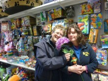 Staff Lisa and Genny at the store.
